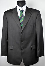 HUGO BOSS Super 100S Wool Charcoal Blazer UK 42 EUR Coat Jacket EUR 52 Gr. Sakko