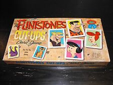Vintage 1962 the Flintstones Cut-Ups Card Game- Whitman No. 4727