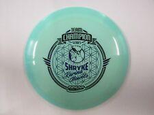 Innova Champion Glow Shryke Karina Nowels Team Series Blue w/ Blue Stamp 175g