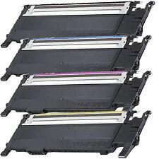 4 Color Toner Cartridges for Samsung CLP320 CLP325 CLP325W CLX-3180 CLX3185FN