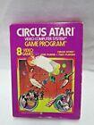 Circus Atari Video Computer System Game Program 1978 In Box