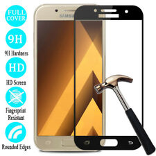 Full Cover Tempered Glass Screen Protector For Samsung Galaxy A3 A5 A7 2016/2017