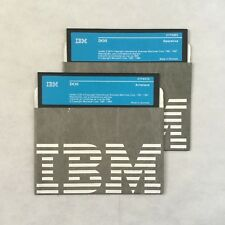 IBM DOS 5 1/4 diskettes Version 3.30