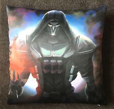 *UK Seller* Overwatch Reaper Pillow / Cushion Cover 45x45cm Anime 2 sided