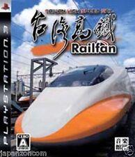 Used PS3 Railfan Taiwan High Speed Rail SONY PLAYSTATION 3 JAPAN JAPANESE IMPORT