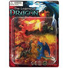 The Legend of Dragon Fantasy Mystical Plastic Toy Set