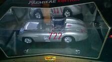 1/18 MAISTO MERCEDES BENZ 300 SLR MILLE MIGLIA #722 Neu In Originalverpackung