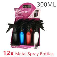4x Metal Spray Bottle 300ml Beauty Salon Hair Mist Sprayer Water Plant Bottles