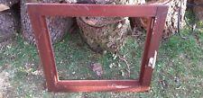 Mahagonifenster ohne Rahmen und Scheibe ,alter Zustand Shabby 64,0 cm x 72,0 cm