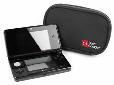 DURAGADGET Black Memory Foam Protective Case for Nintendo 3DS Games Console