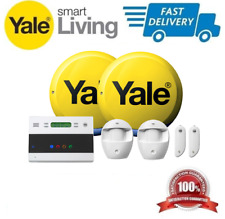 *BEST UK PRICE* Yale SMART LIVING Easy Fit Telecommunicating Alarm Kit EF-KIT2
