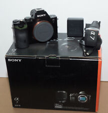 Sony Alpha A7 24.3 MP Mirrorless Digital Camera with 28-70mm Lens - Black
