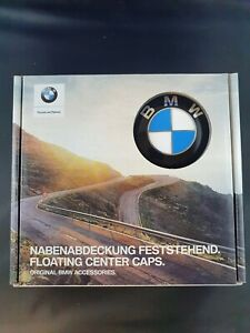 Genuine BMW Floating Wheel Centre Hub Center Caps 36122455269