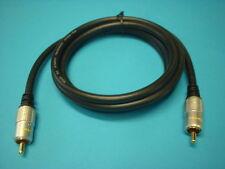 HQ plomb audio numérique coaxial Câble SPDIF 1.5 M