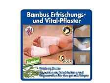 Gina Su Bambuspflaster 120 Stück ( 12 x 10 Stück) Entspannung und Regeneration