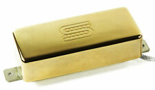 Seymour Duncan SM-3b Seymourized Mini Humbucker Firebird Bridge Pickup, Gold