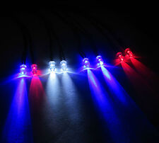 R/C Car Buggy Truck Vehicle - 8 LED Mega Light Kit PP3 Clip + Switch