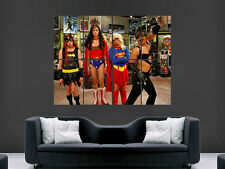 BIG BANG THEORY  GIANT WALL POSTER ART PICTURE PRINT LARGE HUGE !