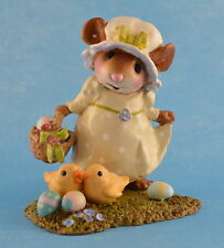 MY LITTLE EASTER BASKET by Wee Forest Folk, WFF# M-346b, Limited Edition 2011