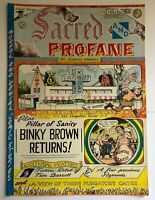SACRED AND PROFANE by Justin Green  Last Gasp underground comix