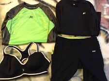 Lot Of9 Young Women'S Exercise Wear Clothes. Junior Xs Xl 10/12 10/14