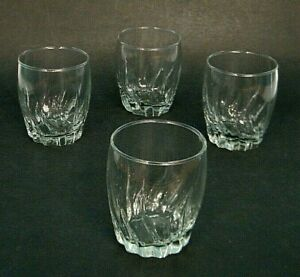 4 Pc ANCHOR HOCKiNG CENTRAL PARK TWiST 12 Oz OLD FASHiONED GLASSES TUMBLER SET