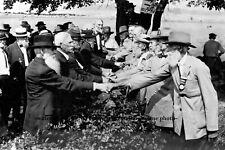 Confederate Union Veterans Gettysburg Handshake PHOTO 50th Reunion Civil War