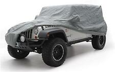 Smittybilt Complete Car Cover Jeep Wrangler TJ/YJ/CJ7 Gray W/Storage Bag 803