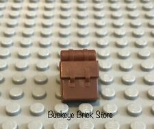 LEGO Reddish Brown Non Opening Backpack Camping Hiking Outdoors Soldier Army