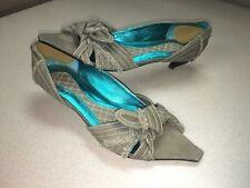 IRREGULAR CHOICE Woman's Rockabilly Funky Point Toe Slip On Heels Flats SZ 38 7