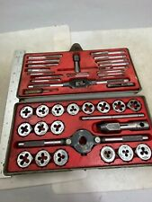 CRAFTSMAN TAP & HEXAGON DIE SET 9 5201, Kromedge, SAE, NO RESERVE!