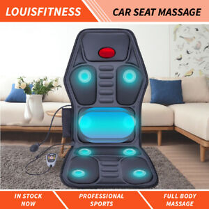Full Body 9 Modes Back Neck Massage Heat Chair Car Seat Cushion Home Car Office