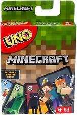 Mattel - UNO Minecraft Card Game - Mojang - New Sealed - In Stock