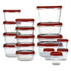 Rubbermaid Easy Find Lids Food Storage Container Set 34-piece pcs BPA free - NEW