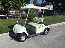 New listing  2003 white yamaha G22 gas golf Cart 2 passenger seat