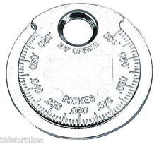 BIKE IT SPARK PLUG COIN GAUGE 0.02 - 0.1 INCH ELECTRODE GAP CHECKER TOOL SPKCOIN