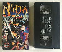 Ninja Scroll - English Dubbed - Manga Video - Anime - VHS Tape Movie
