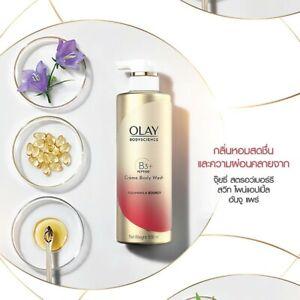 OLAY Body Science Creme Body Wash Firming Vitamin B3 Clean & Tighten Skin 500ml.