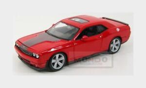Dodge Challenger Srt8 6.1 Hemi Coupe 2008 Orange MAISTO 1:24 MI31280OR Miniature