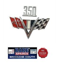 HK HT HG Holden 350 Guard and Flags Badge GTS MONARO Brougham Premier
