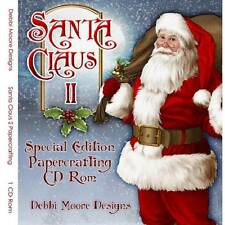 Debbi Moore Santa Claus II Special Edition Papercrafting CD Rom (321162)