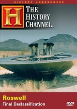 ROSWELL: FINAL DECLASSIFICATION (HISTORY CHANNEL) UFO NEW AND SEALED