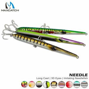 Maxcatch 205mm needle stylo fishing lure long casting pencil baits needlefish