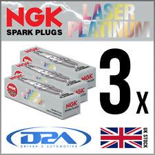 3x NGK DCPR8EKP (7415) Laser Platinum Spark Plug *Wholesale Price SALE*