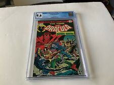 TOMB OF DRACULA 35 CGC 9.6 WHITE PAGES BROTHER VOODOO MARVEL COMICS 1975