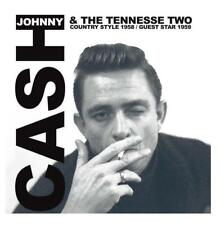 JOHNNY CASH & THE TENNESSE TWO - COUNTRY STYLE 58 / GUEST STAR 59 (NEW) CD Live