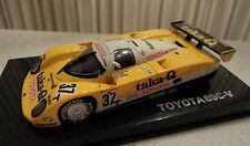 Q-Model Streamline Toyota 89C-V Le Mans 1989 #37 1/43  New in Box Ships From USA