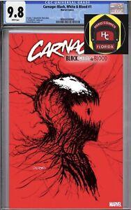 Carnage Black White And Blood -Gleason Webhead  Variant - CGC 9.8 - PRESALE