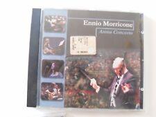 """cd """"Arena Concerto"""" con autografo -  AUTOGRAFATO DA ENNIO MORRICONE - SIGNED"""