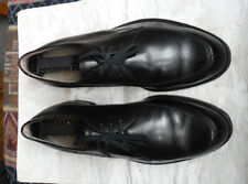 Howard &  Foster Vintage 1940's Black Norwegian Split Toe Derby 9D